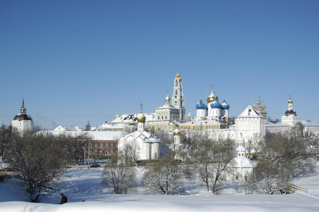 Почаевская лавра на Новый год. 29 декабря - 2 января